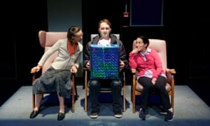 'The Lounge, at Soho Theatre, and its three versatile actors took some very risky steps and never put a foot wrong.'