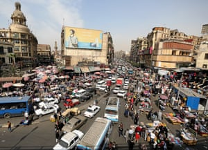 The number of people living in Cairo, Egypt's overcrowded capital, is expected to increase by 500,000 in 2017.