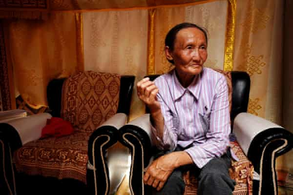 Nergui, 68, Khanbogd, southern Gobi, Mongolia