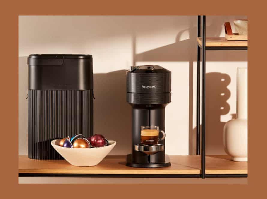 A Nespresso coffee machine