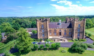 Lumley Castle hotel in Chester-le-Street, County Durham.