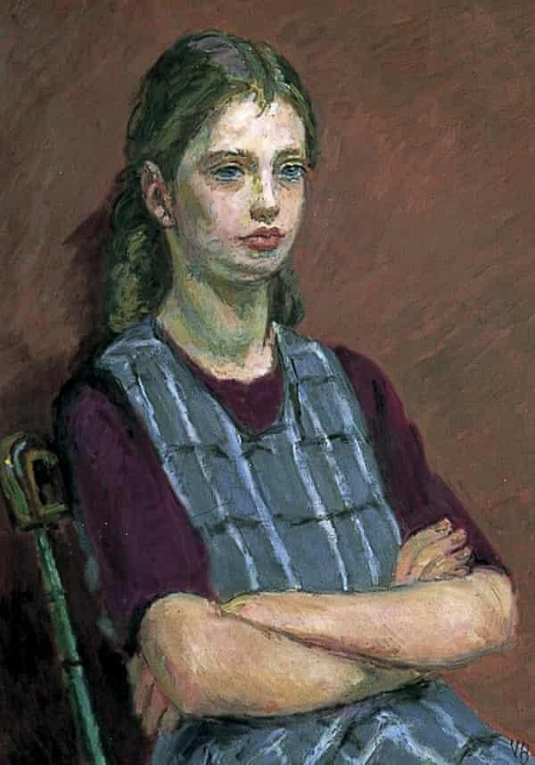 Portrait of Henrietta Garnett by Vanessa Bell, 1955.