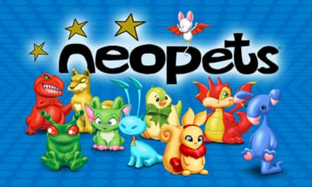 Particularly popular among girls … Neopets