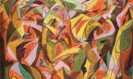 André Masson's 1931 painting, Massacre