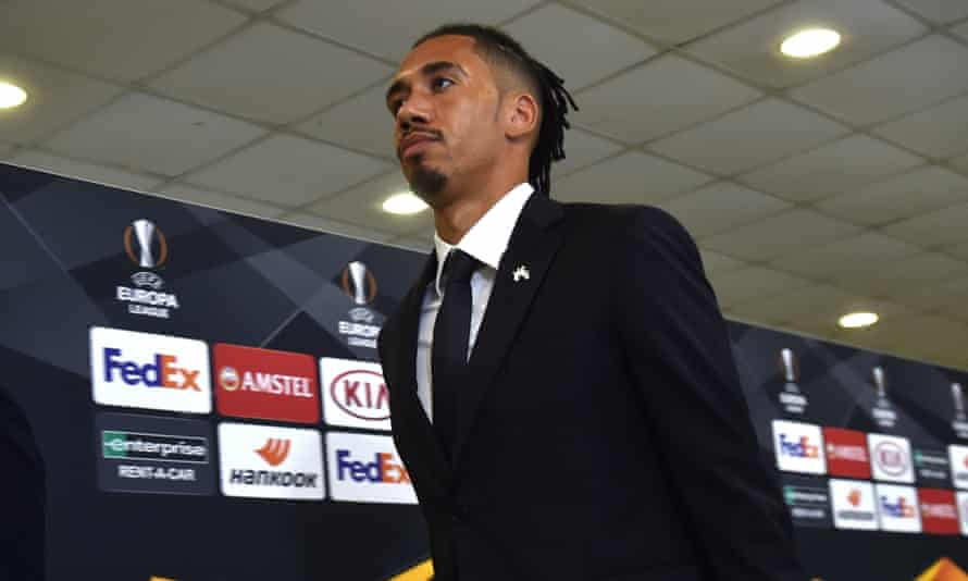 Chris Smalling has made seven appearances for Roma since joining on a season-long loan from Manchester United.