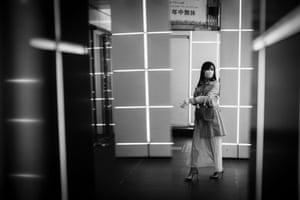 A woman in the Shibuya neighbourhood