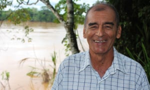 Environmental activist Victor Zambrano recently won  the 2016 National Geographic Society/Buffett Award for Leadership in Latin American Conservation.
