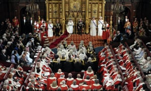 The Queen delivers her speech at the State Opening of Parliament in the House of Lords