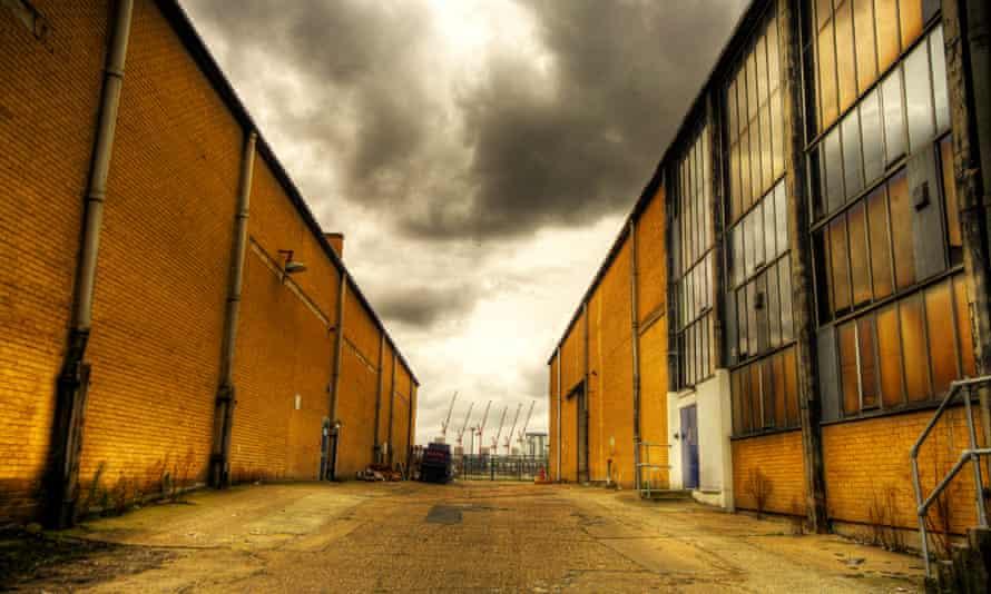 Byers' rebels squat in an industrial estate.