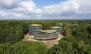 Ethical bank Triodos claim their new headquarters is the world's first totally demountable office building.