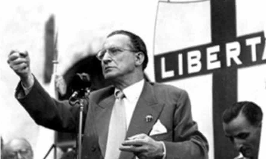 Alcide De Gasperi (1881-1954), former Italian prime minister.