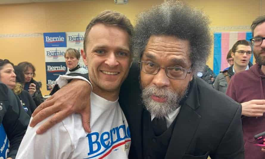 Alistair Kitchen and Dr Cornel West