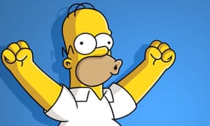homer in the flesh the simpsons announce their first live show