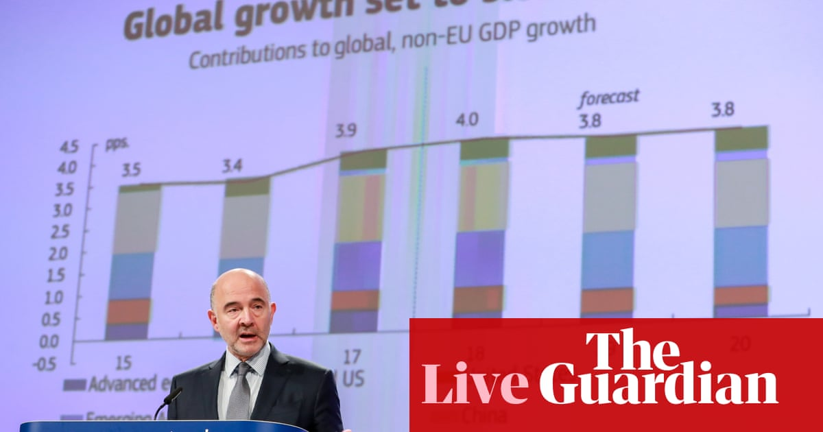 UK tipped to fall to bottom of European growth league next year – as