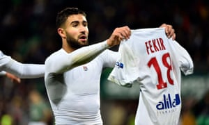 Nabil Fekir looked set to leave Lyon for Liverpool.