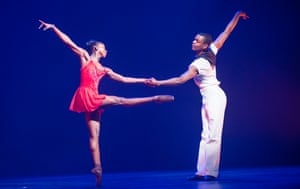 'Terrific together': Cira Robinson and Damien Johnson in Christopher Hampson's Storyville.