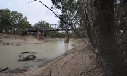The Darling river in Louth, New South Wales in 2008.