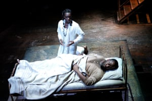 Helping hand … Shakespeare collaborated with George Wilkins on Pericles, seen here in the RSC's 2006 production.
