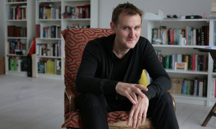 .Nick Harkaway … 'The world is catching up with writers who try to avoid the pace of change.'