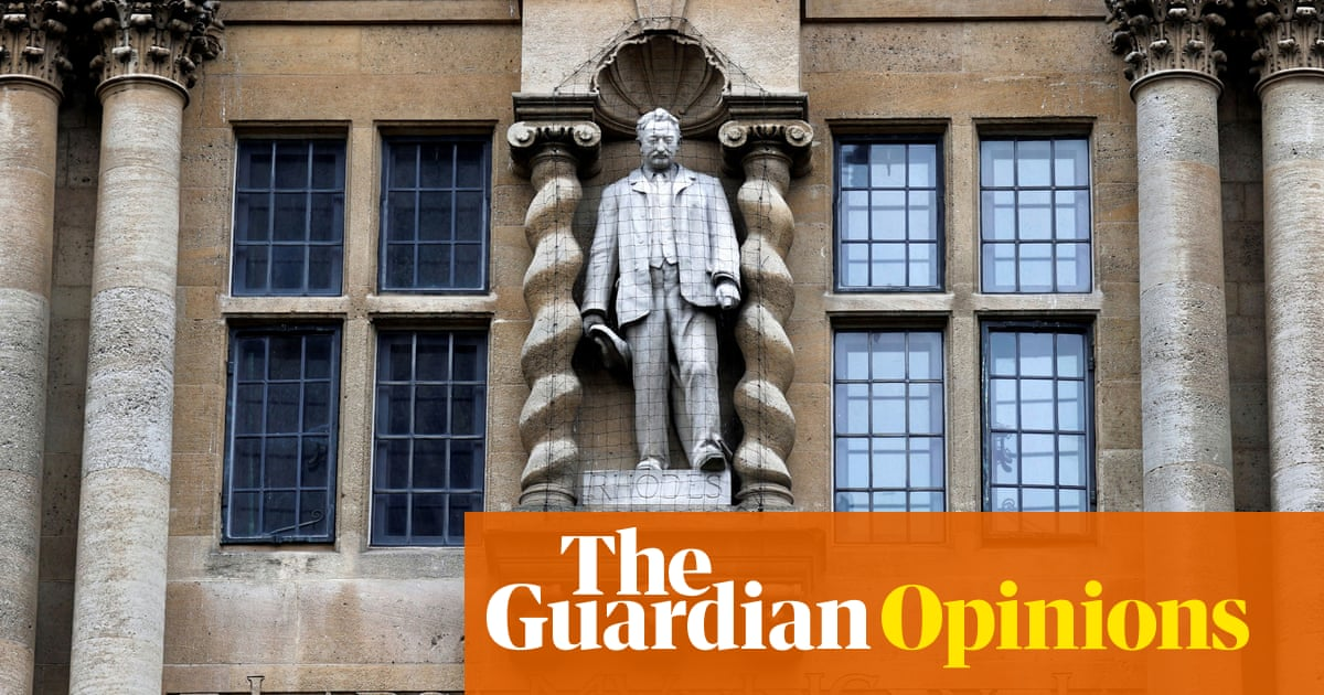 More than just a statue: why removing Rhodes matters