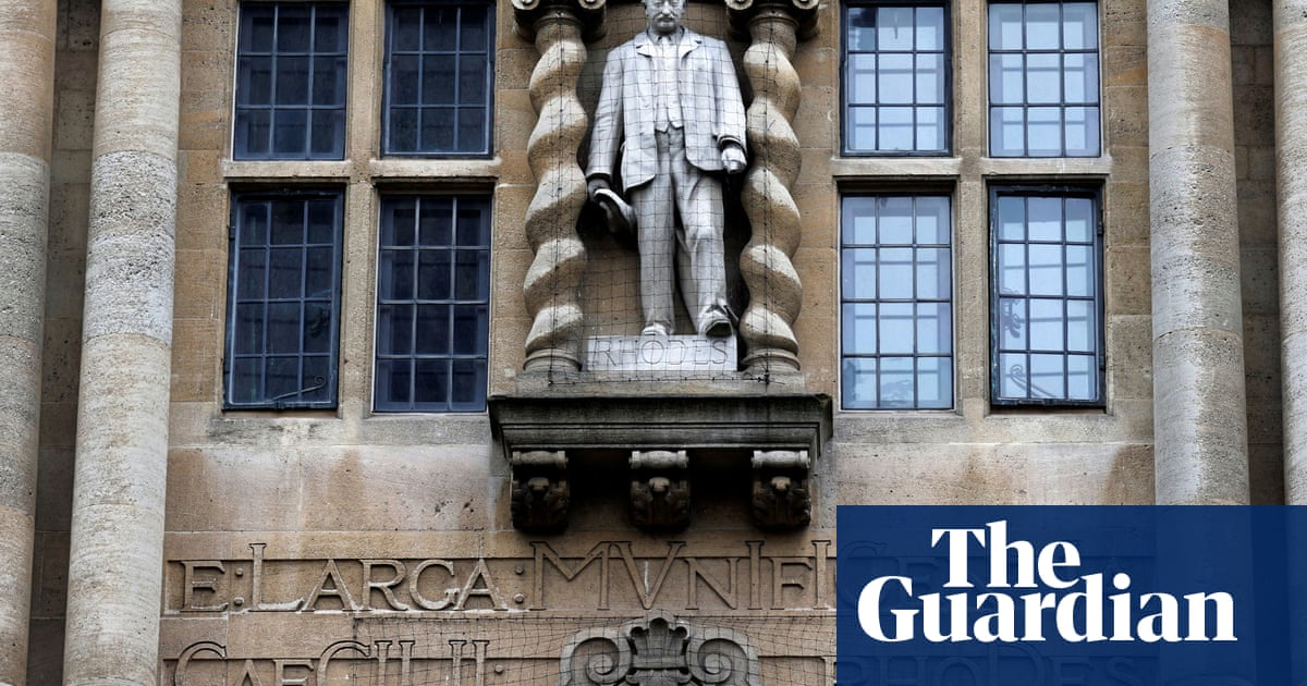 Cecil Rhodes statue will not be removed for now, says Oxford college