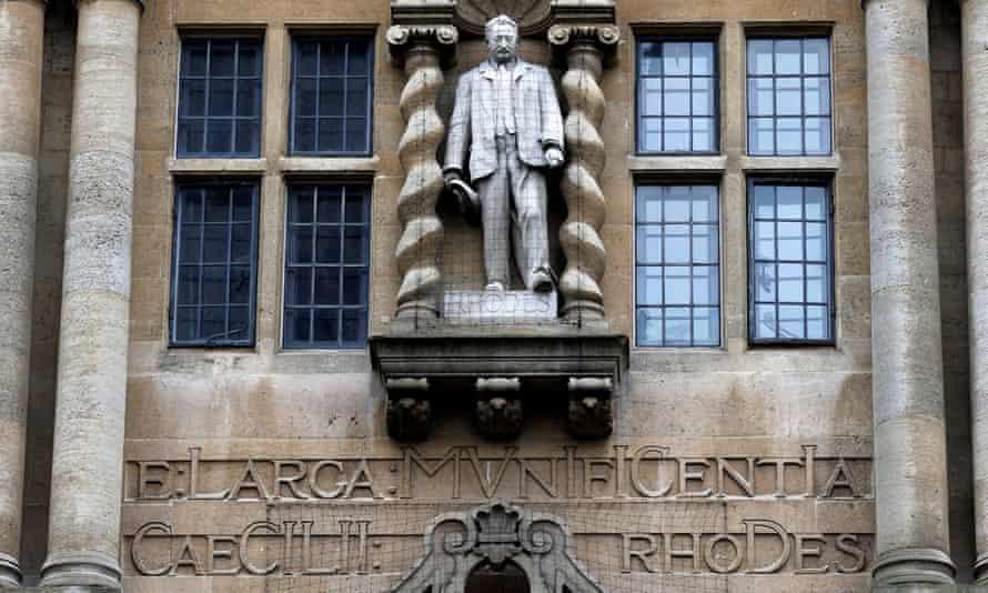 Cecil Rhodes statue.