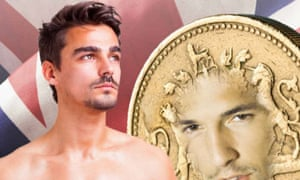 The novel depicts a steamy, and unlikely, relationship between a man and a living pound coin in post Brexit Britain