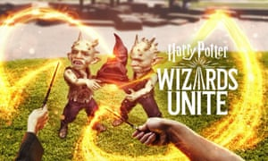Harry Potter: Wizards Unite by Niantic and Warner Bros: promotional image