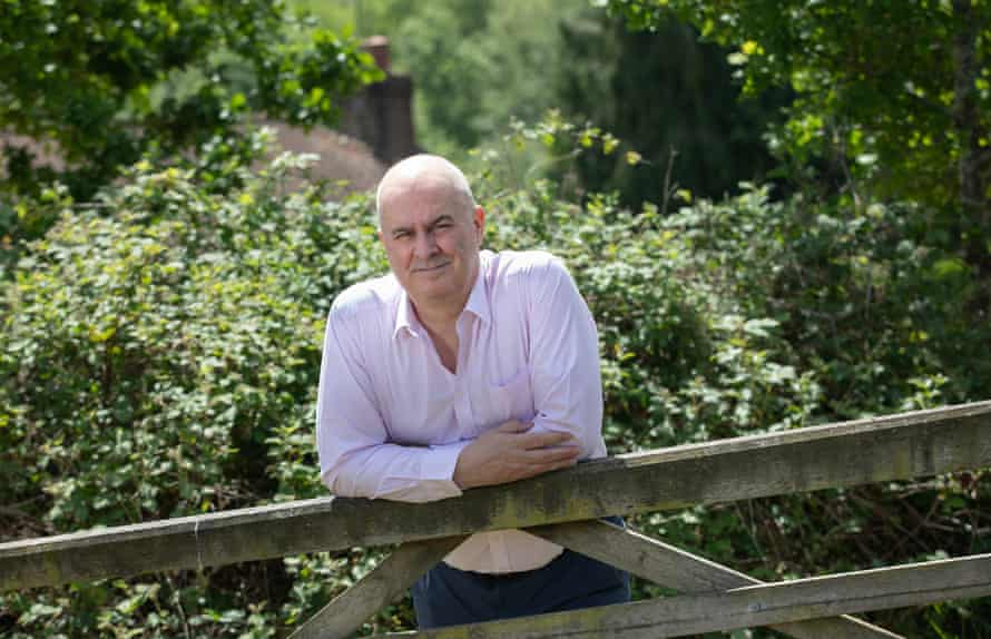 LBC presenter Iain Dale, who is working from his home in Kent