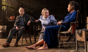 'Sonya's basically a peasant' … Wood with Toby Jones and Rosalind Eleazar in Uncle Vanya.