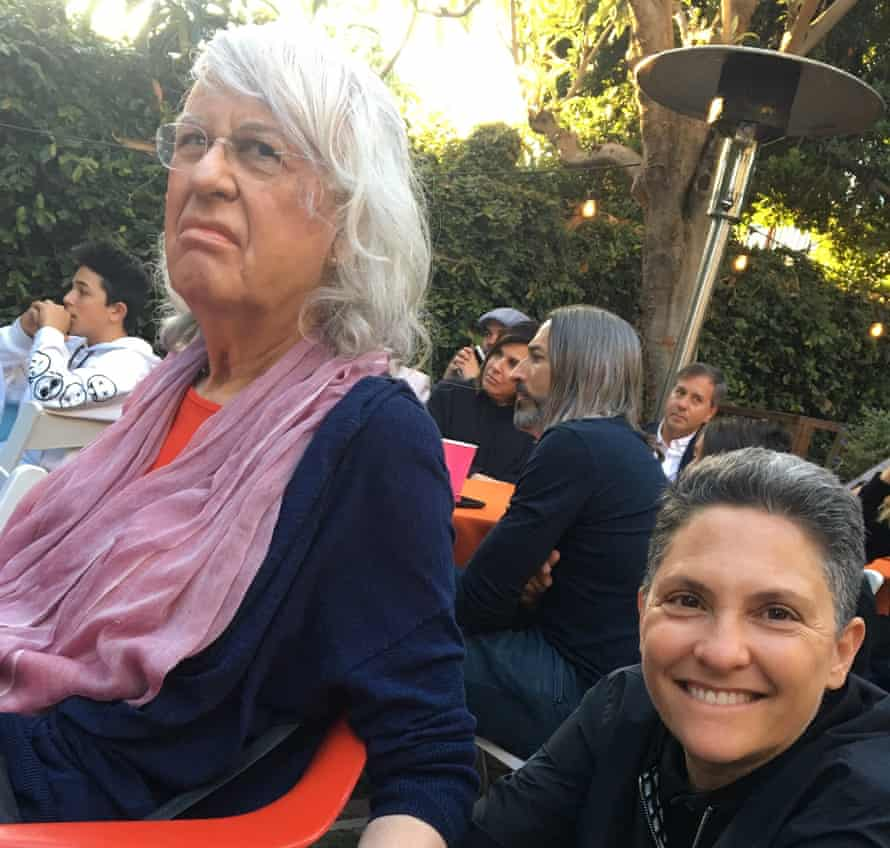Jill Soloway with their Moppa