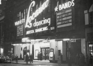 the Locarno dance hall in Glasgow.
