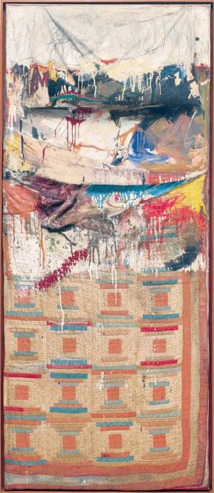 Robert Rauschenberg's Bed (1955).