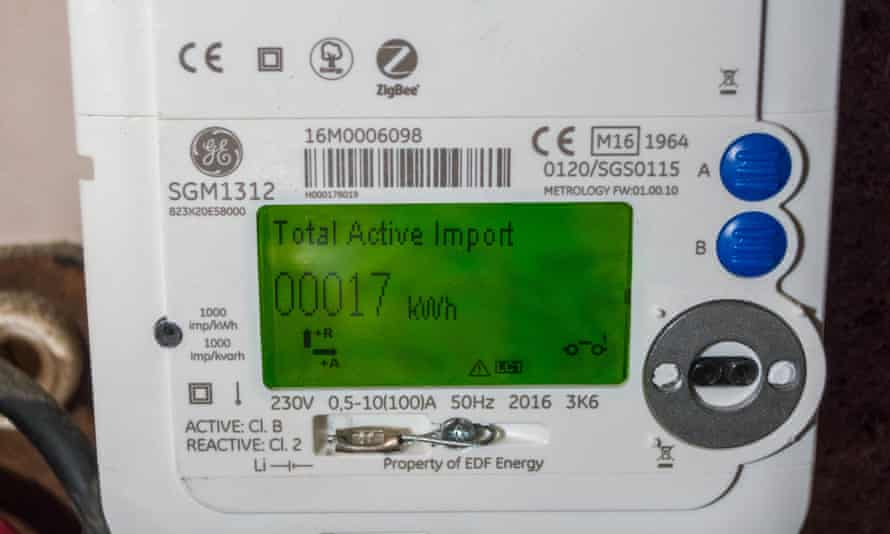 A smart electricity meter.