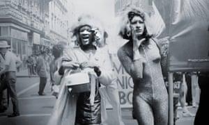 Sylvia Rivera (right) with fellow trans activist Marsha P Johnson, circa 1970.