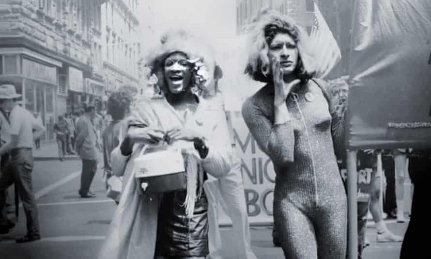 Marsha P Johnson and Sylvia Rivera, in a still from the Netflix documentary The Death and Life of Marsha P Johnson.