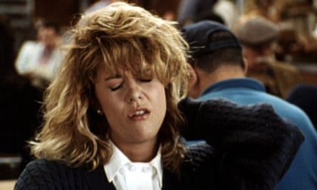The famous orgasm scene in classic rom-com When Harry Met Sally.