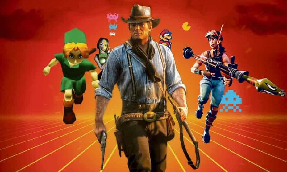 Red Dead Redemption 2 – Gamer wallpaper for bedroom walls