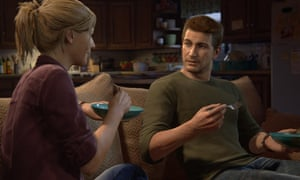 scene from Uncharted 4