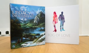 Fog of Love and Legacy of Dragonholt both explore stories in interesting ways, but they're two very different games.