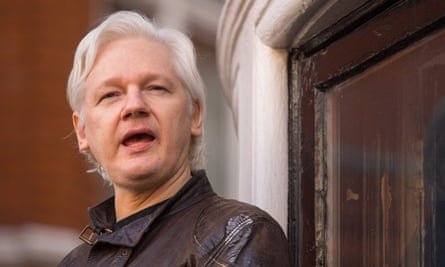'A servant to forces he doesn't understand' … Julian Assange.