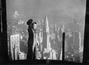 View of the Chrysler building, New York, 1931