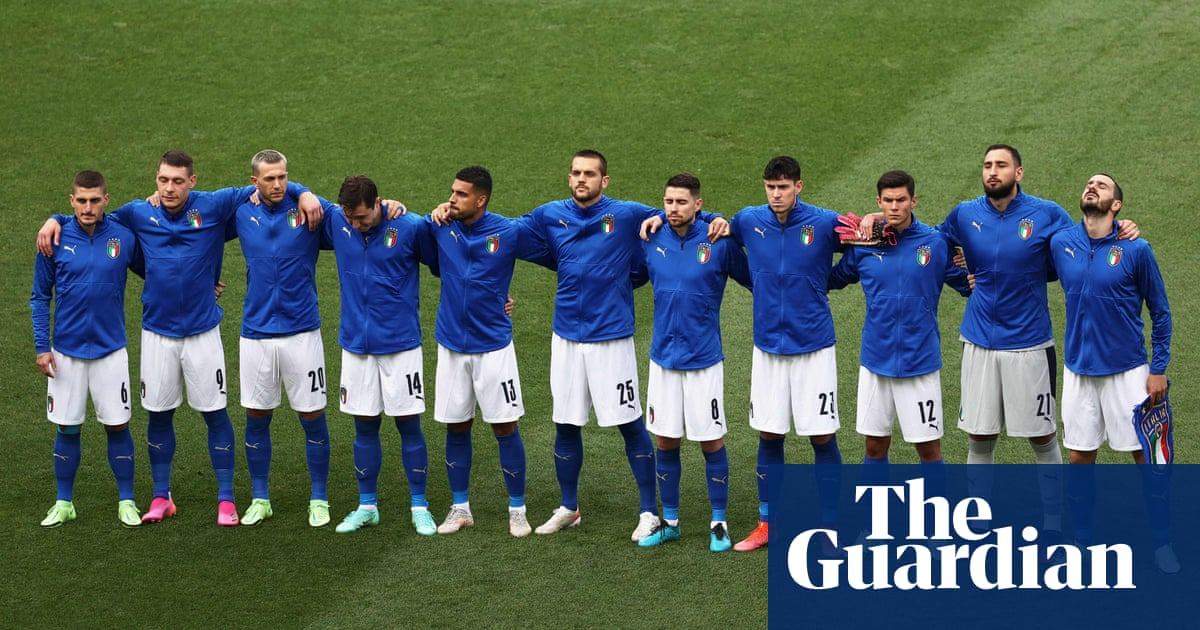 Italy will not take knee at Wembley after criticism over Rome shambles
