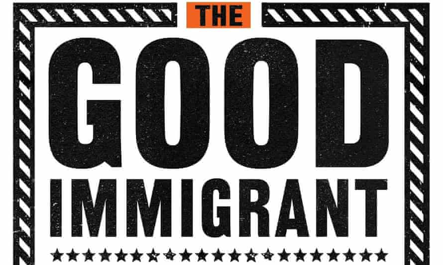 Detail from the cover of essay collection The Good Immigrant.