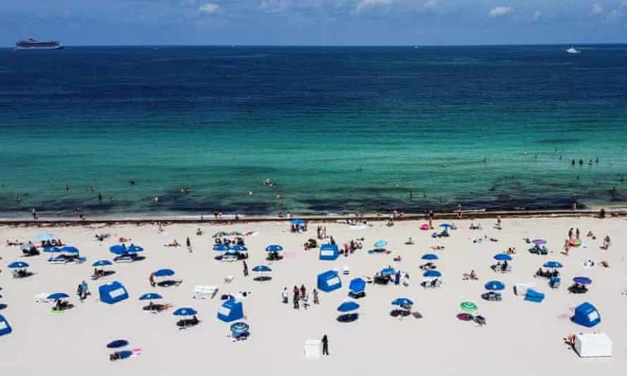 Miami Beach in Florida on Wednesday. Is a second wave inevitable?