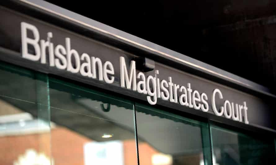 Matthew James Markcrow and Crystal Marie Sawyer appeared in Brisbane magistrates court on Friday after a four-month investigation into the alleged prostitution ring.