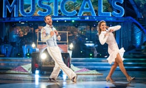 JJ and Amy on Strictly