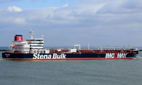 Iran's top diplomat in UK summoned over seizure of Stena Impero