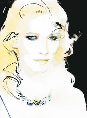 Cate Blanchett Vogue Australia cover, 2009