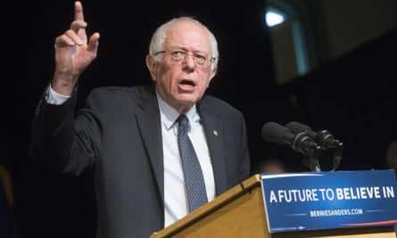 Bernie SandersDemocratic presidential candidate, Sen. Bernie Sanders, I-Vt. speaks during a campaign stop at Exeter Town Hall, Friday, Feb. 5, 2016, in Exeter, N.H. (AP Photo/John Minchillo)